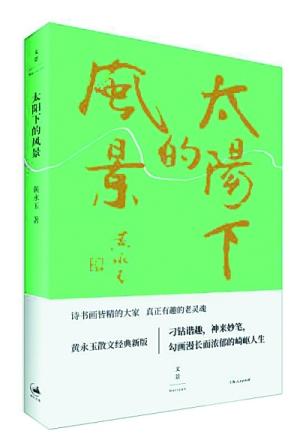 《太阳下的风景》初版于1984年,彼时是黄老先生的文字作品首次结集